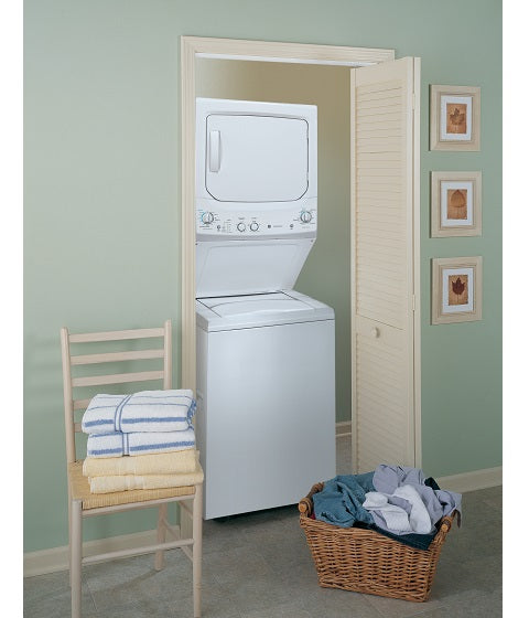 UNITIZED 3.7 Cu. Ft. (IEC) WASHER / 5.9 Cu. Ft. DRYER SPACEMAKER WASHER AND ELECTRIC DRYER