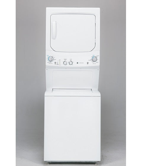 UNITIZED 3.7 Cu. Ft. (IEC) WASHER / 5.9 Cu. Ft. DRYER SPACEMAKER WASHER AND GAS DRYER