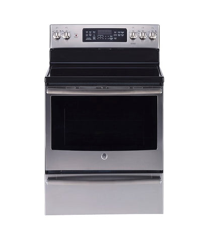 "30"" FREE STANDING ELECTRIC SELF CLEANING CONVECTION RANGE GE - STAINLESS STEEL JCB860SKSS"