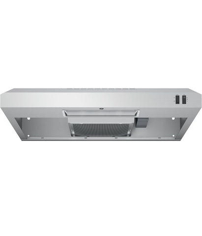 "30"" 2 SPEED UNDER THE CABINET VENT HOOD GE - STAINLESS STEEL JVX3300SJSSC"