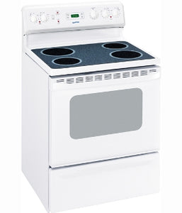 "Moffat White on White  30"" Free Standing Electric Standard Clean Range MCBS585DRWW"