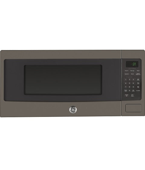 1.1 CUFT COUNTERTOP MICROWAVE OVEN GE PROFILE - SLATE PEM10SLFC