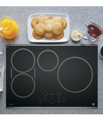 "30"" GE PROFILE ELECTRIC COOKTOP WITH INDUCTION ELEMENTS GE PROFILE - STAINLESS STEEL PHP9030SJSS"