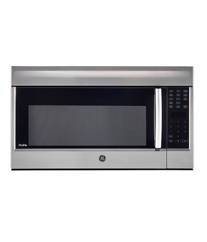 1.8 CU FT OVER THE RANGE MICROWAVE OVEN GE PROFILE - STAINLESS STEEL PVM1899SJC
