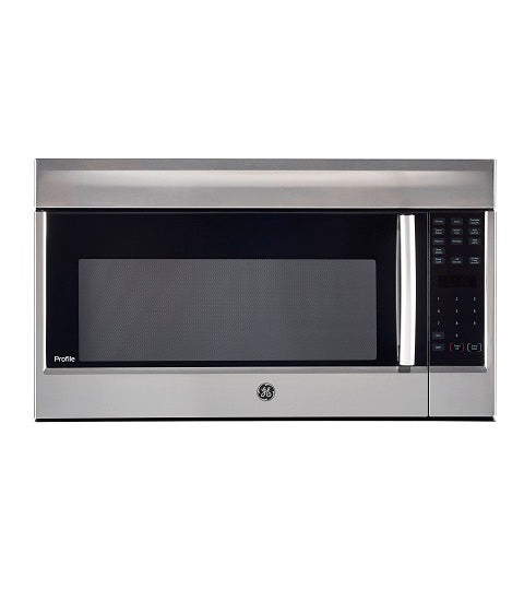 2.1 CU FT OVER THE RANGE MICROWAVE OVEN GE PROFILE - STAINLESS STEEL PVM2155SHC