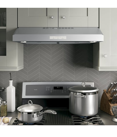 "30"" 4 SPEED UNDER THE CABINET VENT HOOD GE PROFILE - STAINLESS STEEL PVX7300SJSSC"
