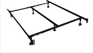 IF-16F Adjustable Bed Frame Twin/Full/Queen - With Wheels