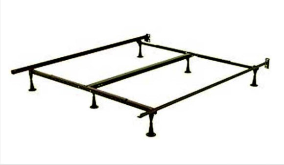 IF-17F Adjustable Bed Frame Twin/Full/Queen - No Wheels