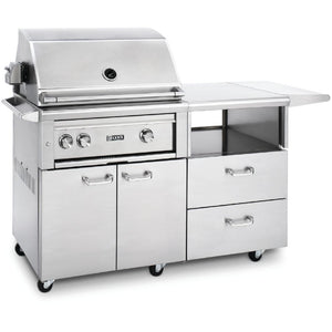 "Lynx 30"" Grill w/ Rotisserie on Mobile Kitchen Cart (L30R-M)"