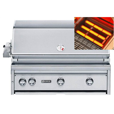 "Lynx 36"" Built-in ALL TRIDENT™ Grill with Rotisserie (L36ASR)"