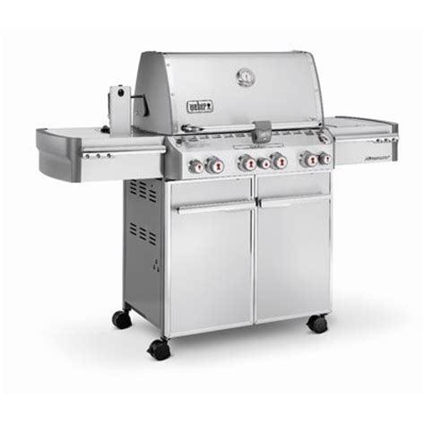 WEBER SUMMIT ® S-470™ 4-BURNER  WITH SIDE AND ROTISSERIE BURNERS