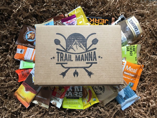 Trail Manna Day Hiker - Monthly Snack Food Subscription Box