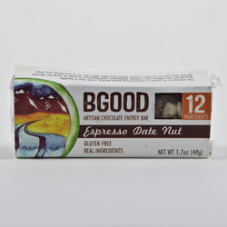 BGood Bars Espresso Date Nut