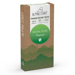Alpine Start Original Blend Instant Coffee - Sleeve of 8