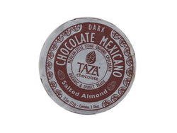 Taza Chocolate Chocolate Mexicano Discs Salted Almond