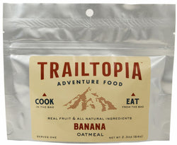 Trailtopia Banana Oatmeal