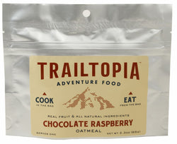 Trailtopia Raspberry Chocolate Oatmeal