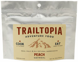 Trailtopia Peach Oatmeal