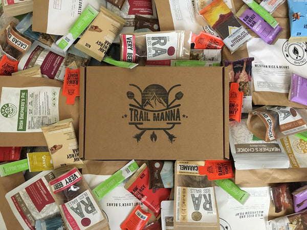 Trail Manna Backpacker - Monthly Trail Food Subscription Box