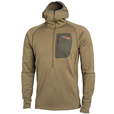 Sitka Men's Heavyweight Hunting Performance Hoody, Dirt, Large