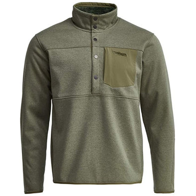 SITKA Gear Men's Front Range Snap Fleece Jacket, Sagebrush, M