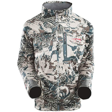 SITKA Gear Men's Mountain Windstopper Water Repellent Jacket, Optifade Open Country, Large