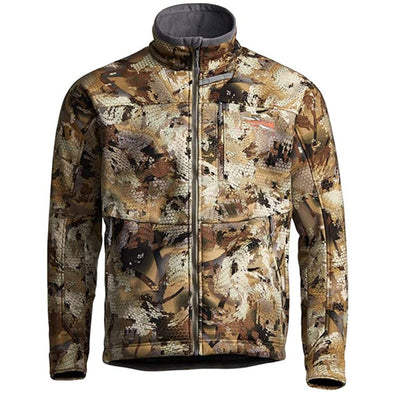 SITKA Gear Men's Dakota Windstopper Water Repellent Breathable Camo Hunting Jacket, Waterfowl Marsh, Large