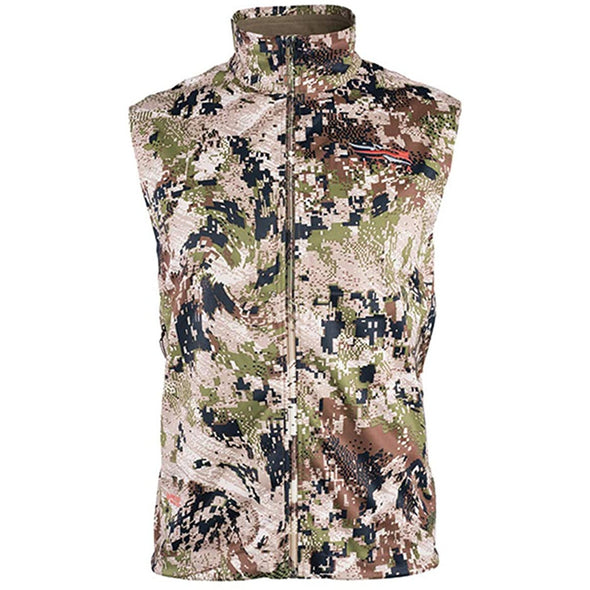 SITKA Gear Men's Mountain Windstopper Water Repellent Vest, Optifade Subalpine, X-Large (50230-SA-XL)