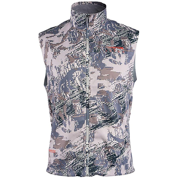 SITKA Gear Men's Mountain Windstopper Water Repellent Vest, Optifade Open Country, Large