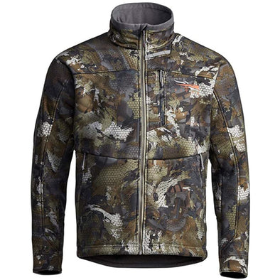 SITKA Gear Men's Dakota Windstopper Water Repellent Breathable Camo Hunting Jacket, Waterfowl Timber, XXX-Large
