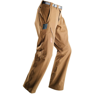 Sitka Men's Hunting Water-Repellent Camo Dakota Pants, Mud, 34T