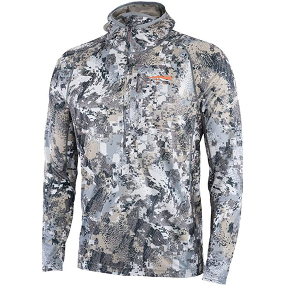 SITKA Gear Men's Core Lightweight Hunting Hoody, Optifade Elevated II, X-Large