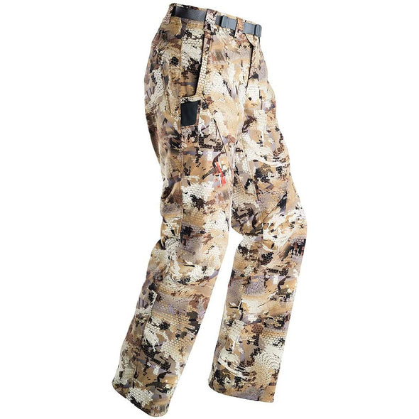 Sitka Men's Hunting Water-Repellent Camo Dakota Pants, Optifade Waterfowl, 40R