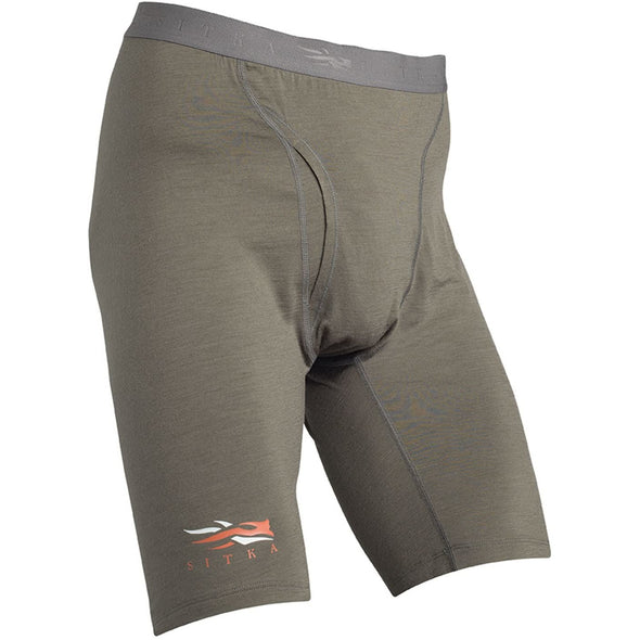 SITKA Gear Men's Merino Core Lightweight Moisture-Wicking Odor-Free Hunting Boxer, Pyrite, Medium