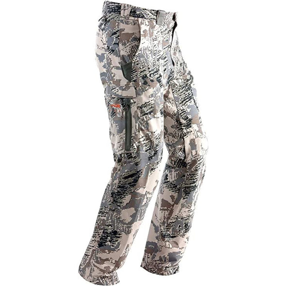SITKA Gear Men's Ascent Softshell Articulated Hunting Pant, Optifade Open Country, 34 Tall