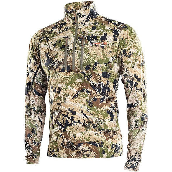 SITKA Gear Men's Ascent Quick-Drying UPF-Protected Hunting Shirt, Optifade Subalpine, X-Large