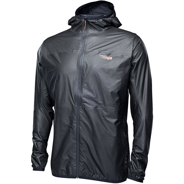 SITKA Gear Mens Packable Gore-Tex Waterproof Windproof Training Hooded Vapor SD Jacket, Black, S, 80009-BK-S