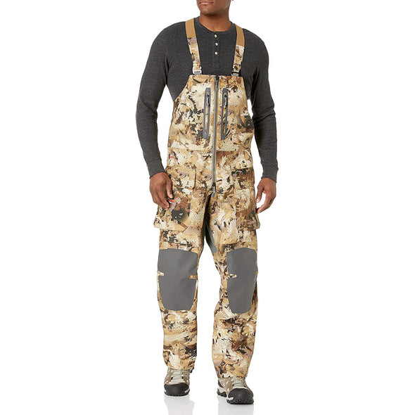 Sitka Men's Hudson Waterproof Hunting Bib, Optifade Waterfowl, Medium