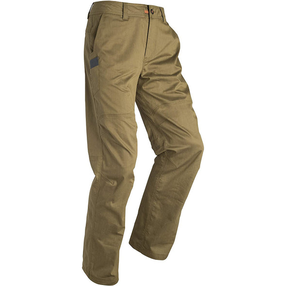 SITKA Gear Men's Back Forty Cordura Abrasion-Resistant Windproof Work Pants, Olive Brown, 36R