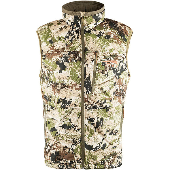 SITKA Gear Men's Kelvin Lite Insulated Hunting Vest, Optifade Subalpine, X-Large
