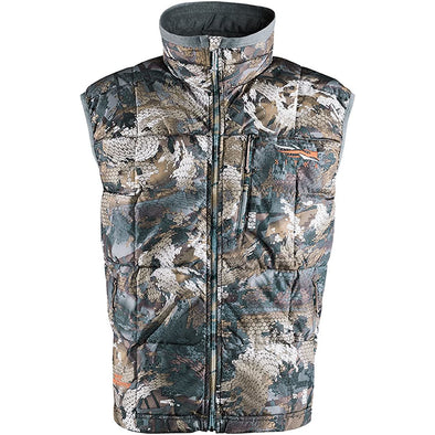 Sitka Men's Fahrenheit Windproof Insulated Hunting Vest, Optifade Timber, X-Large, 30038