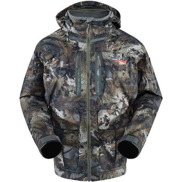 Sitka Men's Hudson Waterproof Insulated Hunting Jacket, Optifade Timber, Large Tall
