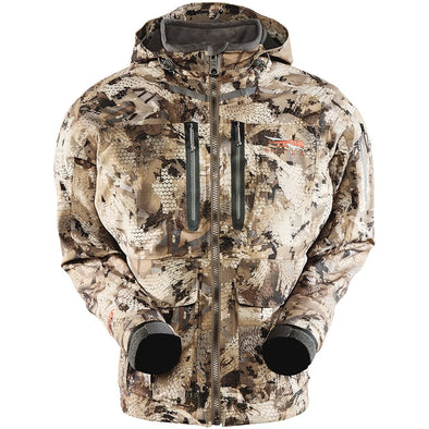 SITKA Gear Men's Hudson Waterproof Insulated Hunting Jacket, Optifade Waterfowl, X-Large, Marsh