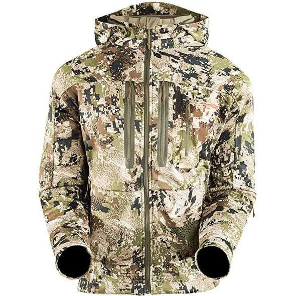 SITKA Gear Men's Jetstream Windstopper Water Repellent Hunting Jacket,Optifade Subalpine, XX-Large