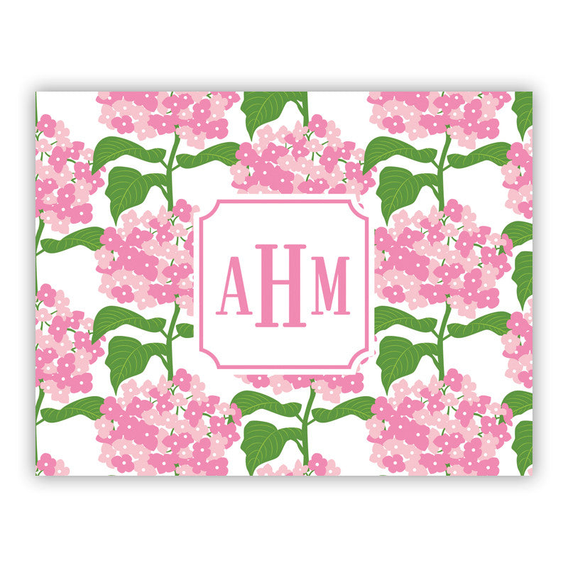 Personalized Folded Notes - Sconset Pink by Boatman Geller