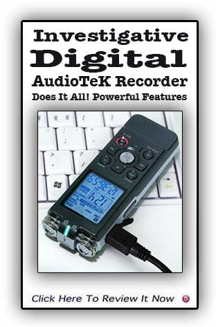 RYL-K9 Stealth Audio Recorder