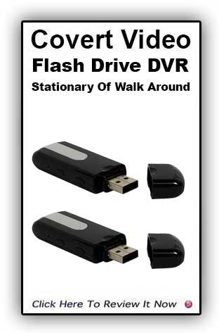 Flash Drive Color Camera with built in DVR
