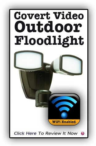 FloodLightViD HD Covert Video Recording System