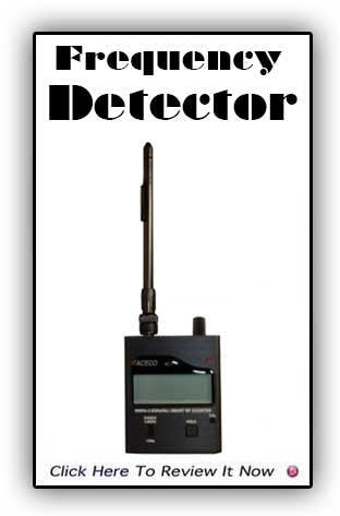 Frequency Counter Bug Detector