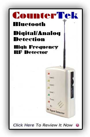 Bluetooth CounterTek Detector